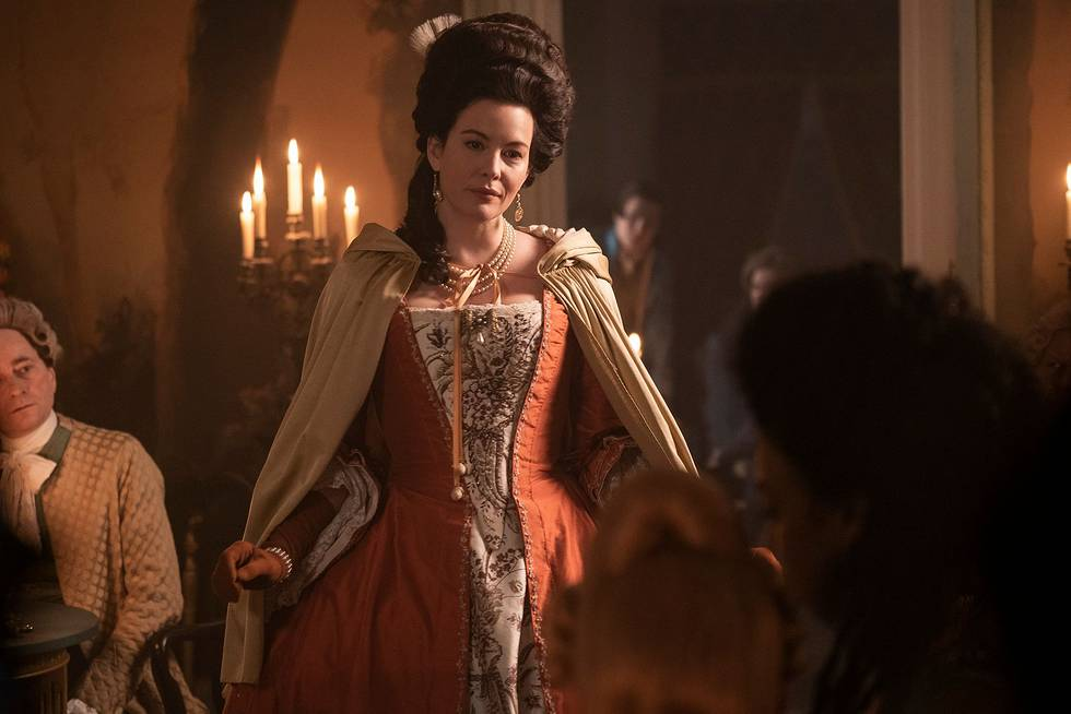 Liv Tyler on Harlots season 3